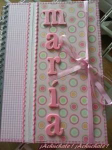 diario journaling bebé niña